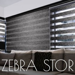 Zebra Stor Perde